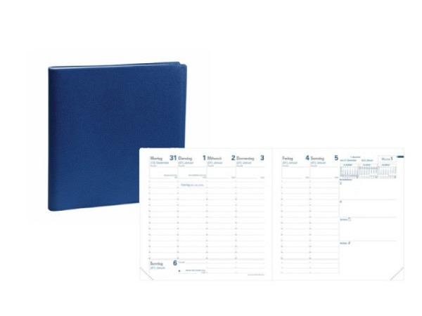 Agenda Quo Vadis Executif Impala farbig sortiert 7 Tage auf 2 Seiten