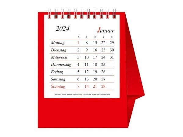 Tischkalender Novos Büro Pro Bristol D. 11,5x13,5cm
