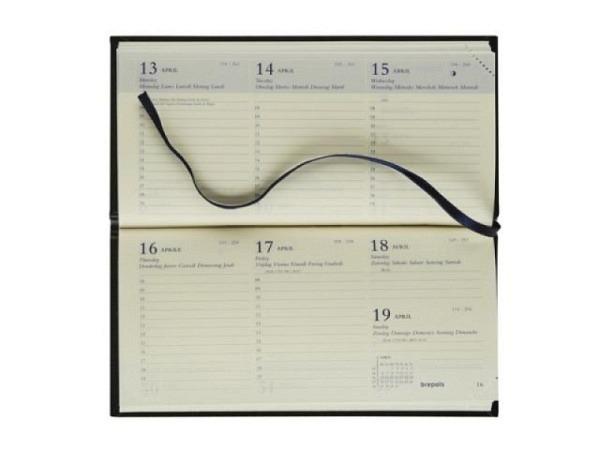 Agenda Brepols Breprint Lima farbig,1 Woche auf 2 Seiten