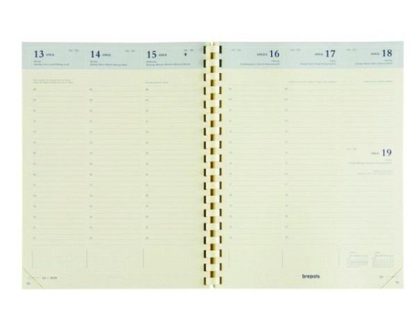 Agenda Brepols Timing Einlage, 7 Tage auf 2 Seiten