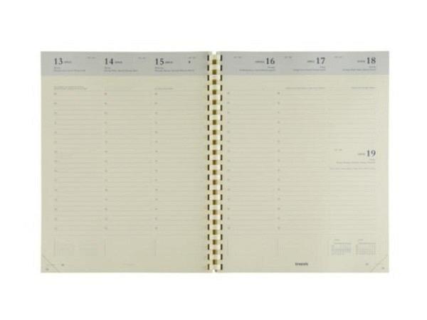 Agenda Brepols Concorde Ersatzeinlage, 7 Tage auf 2 Seiten