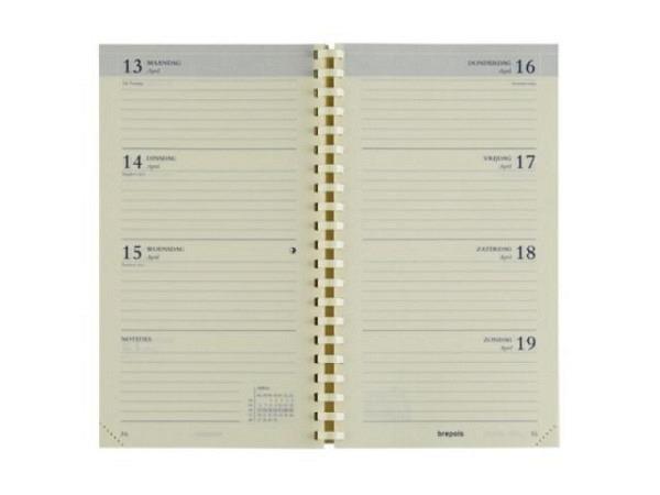 Agenda Brepols Interplan Ersatzeinlage, 7 Tage auf 2 Seiten