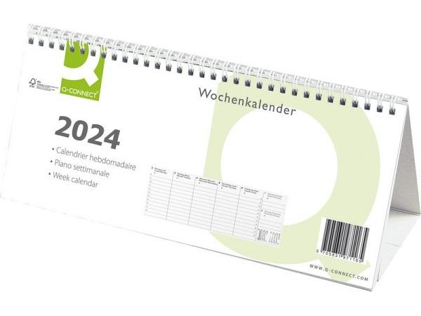 Tischkalender Connect Wochenplaner mit Kartonsteller Triangelform