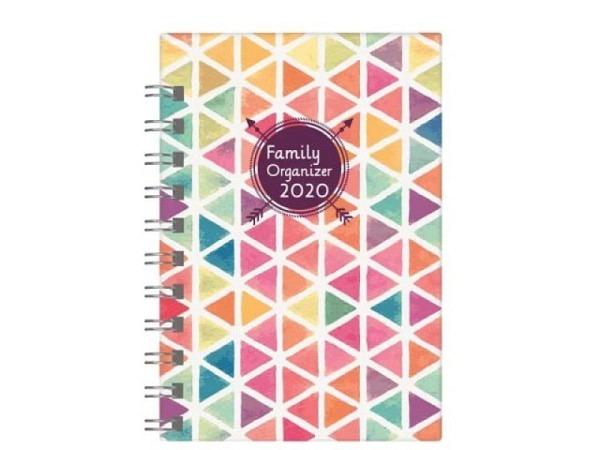 Agenda Biella Family Organizer 7 Tage auf 2 Seiten