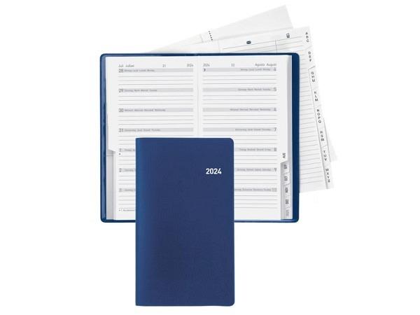 Agenda Biella Planer Bern blau, 1 Woche auf 1 Seite