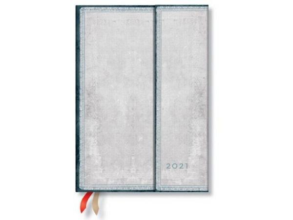 Agenda Paperblanks Midi Karmin, 7 Tage auf 2 Seiten