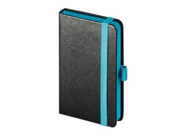 Agenda Biella Kompagnon Trend 8,7x15,3cm Blauschnitt