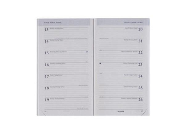 Agenda Brepols Breplan Ersatzeinlage, 7 Tage auf 1 Seite