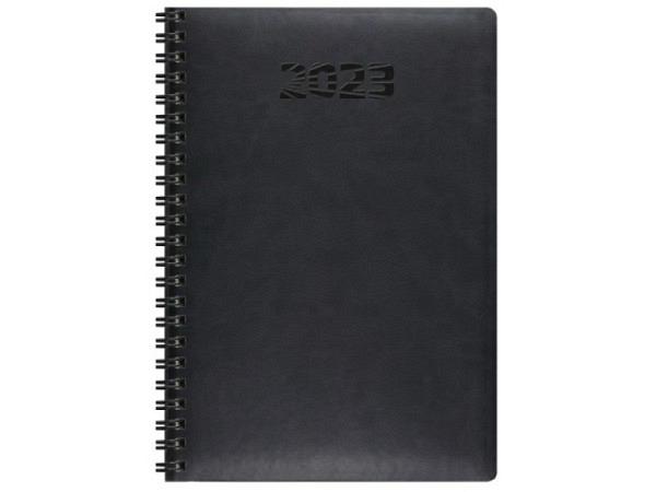 Agenda Simplex Simply Flex black 7 Tage auf 2 Seiten A5