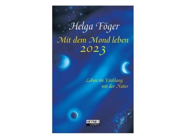 Agenda Heyne Föger Mit dem Mond leben, 7 Tage auf 1 Seite