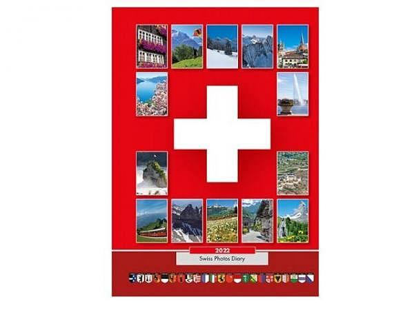 Agenda Alfa Kartos Schweizer Foto Agenda, 7 Tage auf 1 Seite