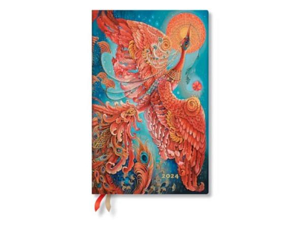 Agenda Paperblanks Maxi Schmetterlinge, 7 Tage auf 2 Seiten