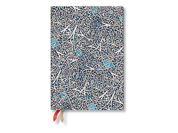 Agenda Paperblanks Midi Karmin, 7 Tage auf 1 Seite