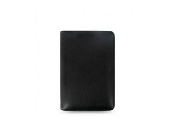 Ringbuch Filofax Personal Metropol Zip schwarz