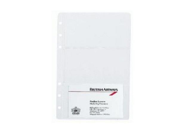 Einlage Timesystem Compact 8,5x16,9cm Klarsichthüllen