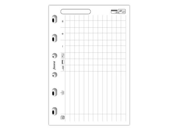 Einlage Filofax Pocket Notizpapier Finanzen, 20 Blatt
