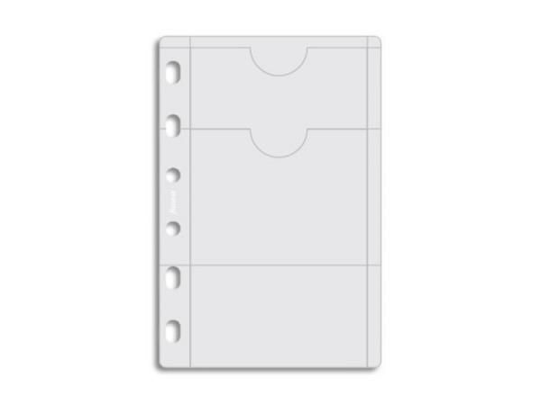 Einlage Filofax Pocket Kreditkartenhülle transparent