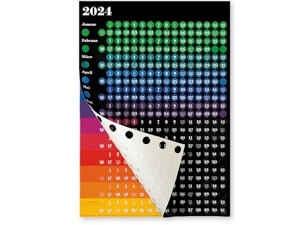 Planer Grafik-Kalender Der Springende Punkt, 57,5x81cm