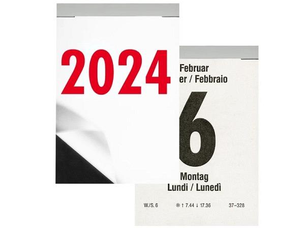 Abreisskalender Biella Block 4, 7x10,2cm