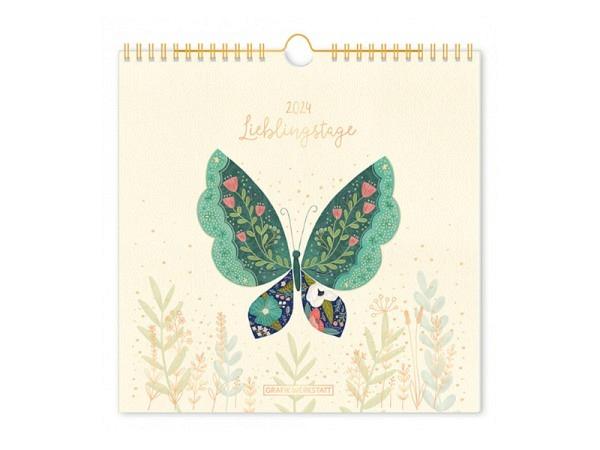 Bastelkalender Korsch Foto, Malen Basteln schwarz 21,5x24