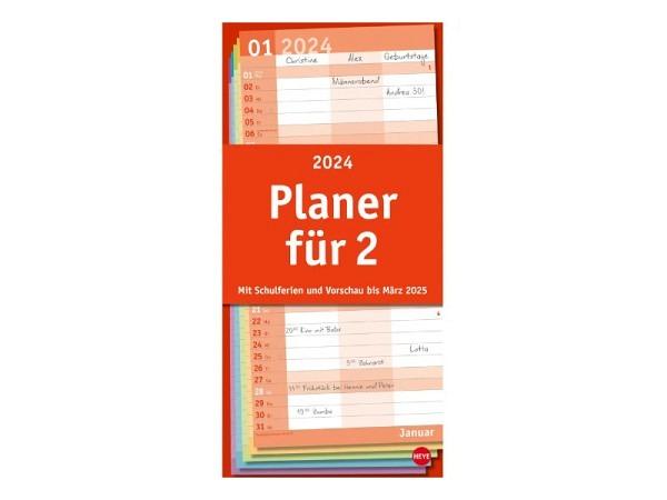 Familienplaner Heye Planer für zwei Basic 21x45cm