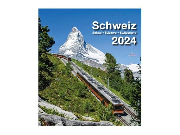 Kalender Schweiz 21x24cm Verlag Photoglob<br>