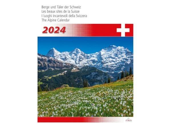 Kalender Berge und Täler der Schweiz 31x40cm