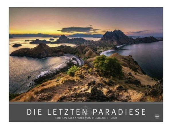 Kalender Die letzten Paradiese 78x58cm