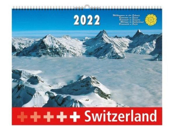 Kalender Switzerland, 40x31cm, Beringer & Pampaluchi