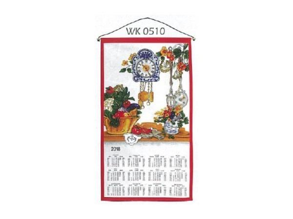Stoffkalender Küche 35x65cm