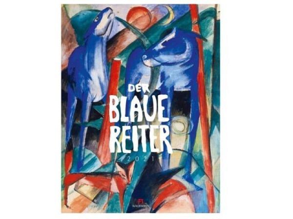 Kalender Der Blaue Reiter 50x66cm