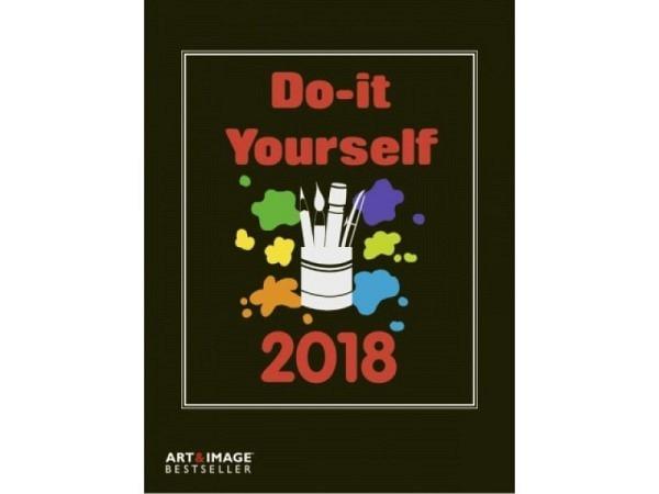 Bastelkalender Art&Image Do-it-Yourself schwarz 21x24cm