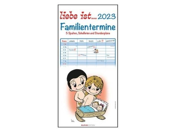 Familienplaner teNeues Liebe ist... 2017