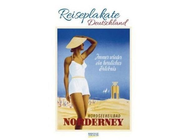 Kalender Reiseplakate Deutschland 55x45,5cm