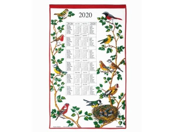 Stoffkalender Eulen 43x68cm