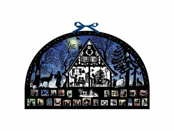 Adventskalender Coppenrath Moonlight Silhouette 51x32cm