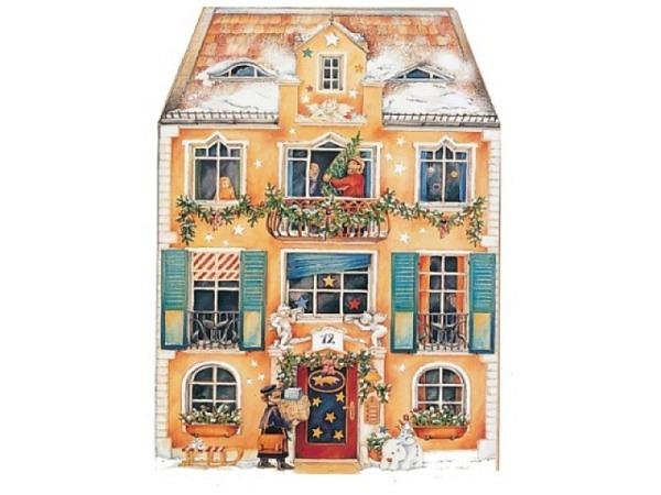 Adventskalender Coppenrath Im Weihnachtshaus aufklappbar