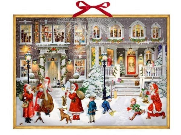 Adventskalender Coppenrath Having a wonderful Christmas-Time 52x38cm