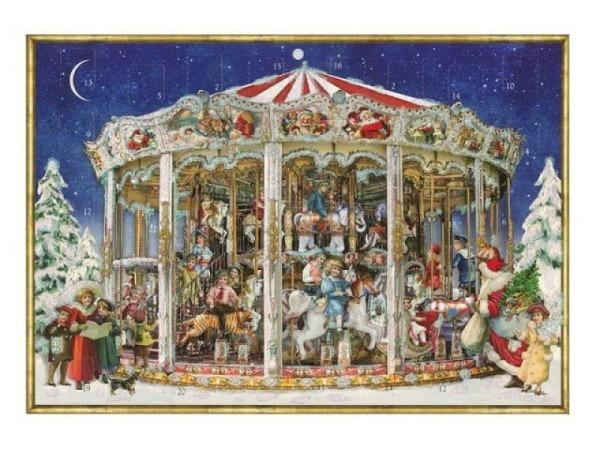 Adventskalender Coppenrath nostalgisches Weihnachtskarussell