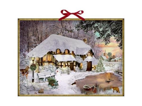 Adventskalender Coppenrath Wimmelige Weihnachten 52x38cm