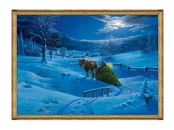 Adventskalender Coppenrath Winterlandschaft A4