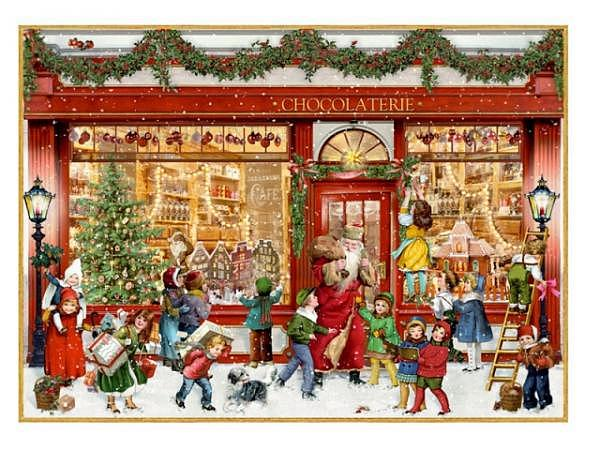 Adventskalender Coppenrath Chocolaterie A4