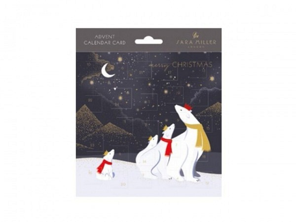 Adventskalender Sara Miller Advent Calendar 38,8x29,7cm
