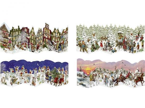 Adventskalender Coppenrath Nostalgische Leporello-Karten