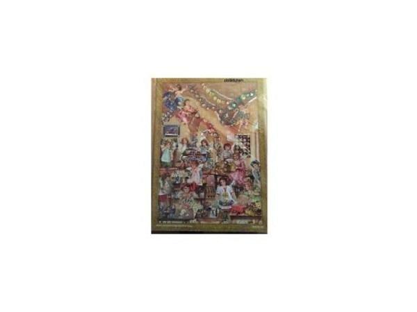 Adventskalender Sellmer Nr.793, Engelskinder mit Geschenken