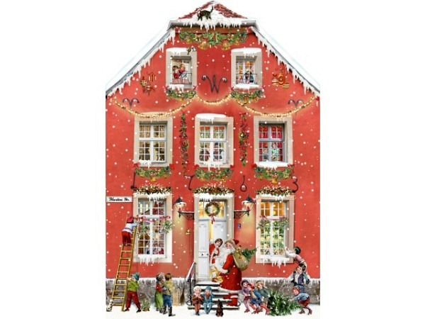 Adventskalender Coppenrath Weihnachten bei uns Zuhause 29,5x43,5cm