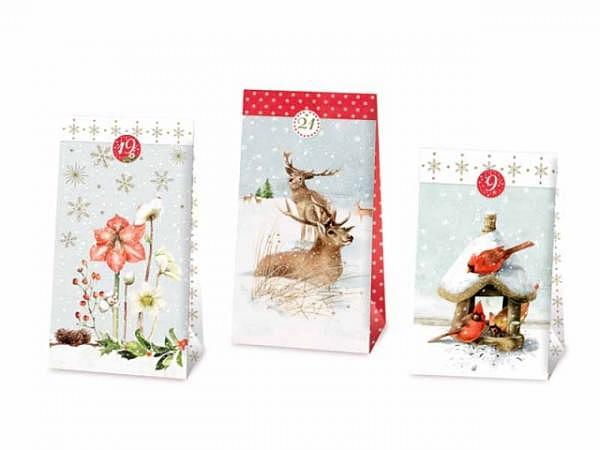 Adventskalender Coppenrath 24 Weihnachtstütchen