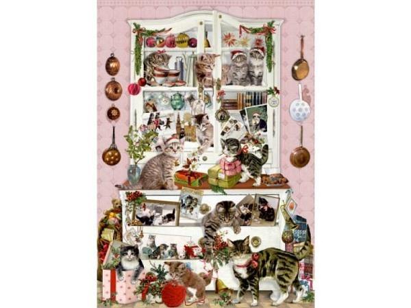 Adventskalender Coppenrath Katzen im Advent 29,7x42cm