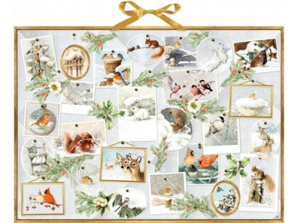 Adventskalender Coppenrath Marjoleins Wintergalerie 52x38cm
