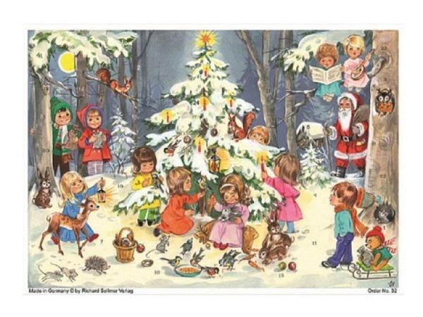 Adventskalender Sellmer Nr.70109, Die Himmelsleiter